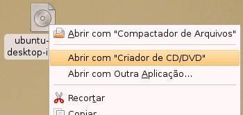 Arquivos ISO devem ser gravados em CD, não descompactados